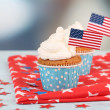 American holiday cupcakes — Stock Photo #49775945