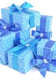 Beautiful gifts close-up — Stock Photo