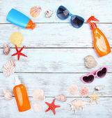 Few summer items — Stock Photo