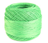 Green clew thread — Stock Photo