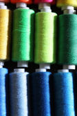 Multicolor sewing threads — Stock Photo