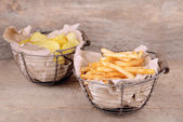 Tasty french fries — Stock Photo