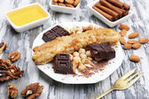 Sweetened fried banana — Stock Photo