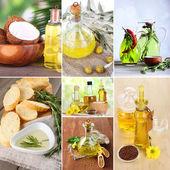 Oil collage — Stock Photo