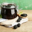 Постер, плакат: Tasty blackberry jam