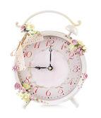 Beautiful vintage alarm clock — Stock Photo
