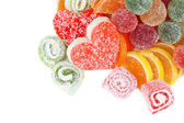 Testy jelly candies — Stock Photo