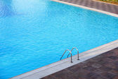 Hotel swimming pool — Stock Photo