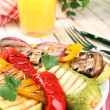 Delicious grilled vegetables — Stock Photo #49961435