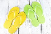 Colorful flip-flops — Stock Photo