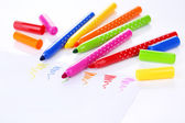 Bright markers — Foto Stock