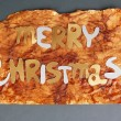 Merry Christmas lettering — Stock Photo #49997573