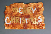Merry Christmas lettering — Foto de Stock
