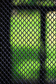 Grid texture close-up — Stock Photo