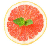 Half of grapefruit — Stock Photo