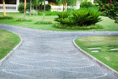 Beautiful landscaping at park — Foto de Stock
