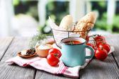Homemade tomato juice — Stock Photo