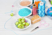 Materials for jewelry manufacture — Stock Photo