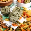 Variety of colorful pasta — Stock Photo #50327913