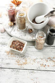 Different sea salt — Stock Photo