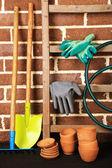 Tools of gardener — Foto Stock