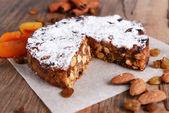 Delicious cake panforte — Foto Stock
