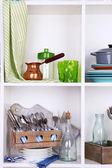 Stoviglie e utensili da cucina — Foto Stock