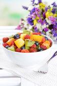 Delicious fruits salad — Stockfoto
