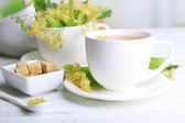 Tasty herbal tea — Foto Stock