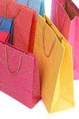 Paper shopping bags — Stock Photo