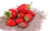 Ripe sweet strawberries — Stock Photo