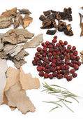 Traditional chinese herbal — Stock Photo