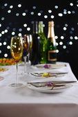 Réglage de la table au restaurant — Photo