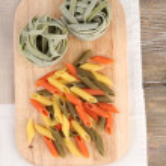Colorful raw pasta — Stock Photo #51174305