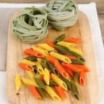 Colorful raw pasta — Stock Photo #51174311