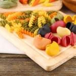 Colorful raw pasta — Stock Photo #51174319