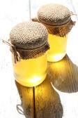 Fresh honey — Stockfoto
