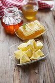 Lemon and honey — Stock Photo