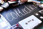 Retro audio tapes — Stock Photo