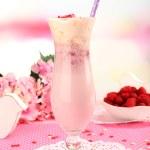 Delicious tasty milkshake — Stock Photo #51228005