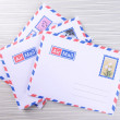 Letters and envelopes close up — Stock Photo #51237917
