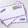 Letters and envelopes close up — Stock Photo #51237927