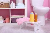 Półki w łazience — Zdjęcie stockowe