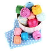 Thread for hook knitting — Stock Photo