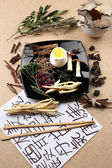 Chinese herbal medicine ingredients — Stock Photo
