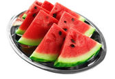 Fresh slices of watermelon, close up — Stock Photo