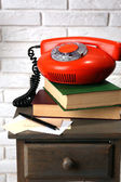 Retro old phone — Stock Photo