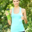Young woman after long run — Stock Photo #51450541