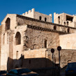 Backside of Abbey Saint Victor in Marseille — Stock Photo