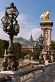 Bridge Alexander III in Paris — Stock Photo
